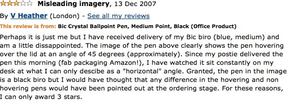 Funny Amazon Reviews 6